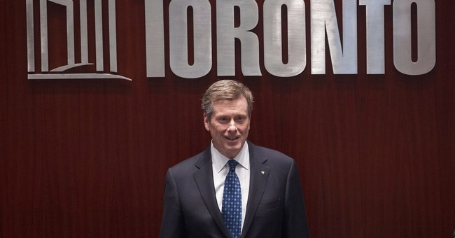 Mayor: Toronto not bidding for 2024 Olympics