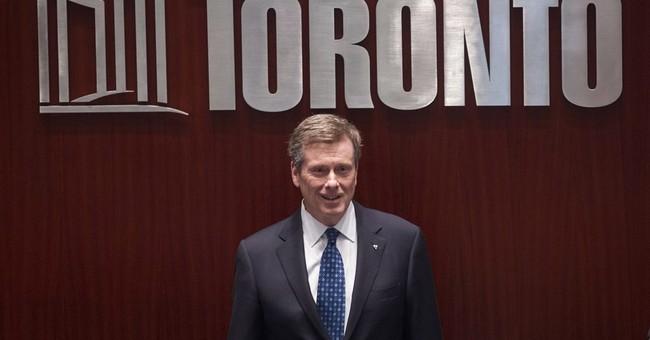 Mayor: Toronto not bidding for 2024 Olympics