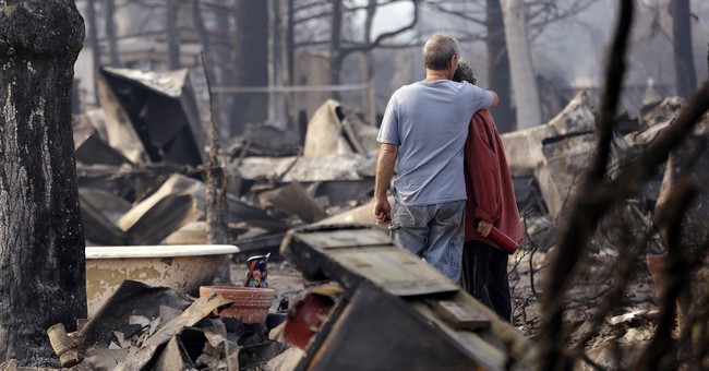The Latest: Blaze destroys 233 Sierra Nevada foothills homes