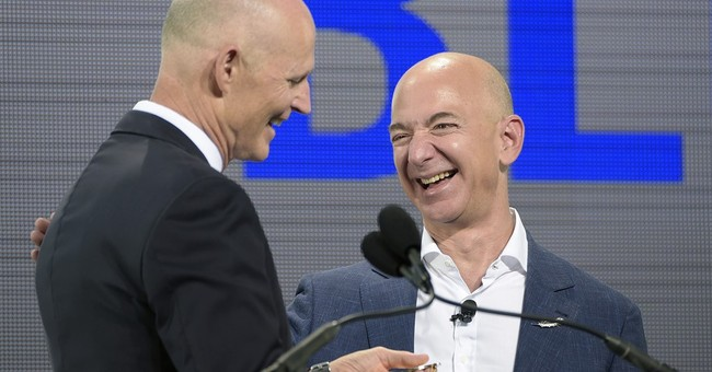 Bezos' space company to build, launch rockets in Florida
