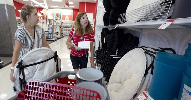 US consumer prices fell 0.1 percent in August