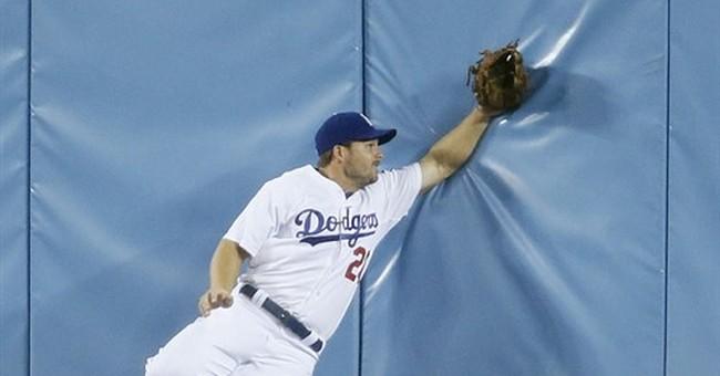 Dodgers lose 5-4 to Rockies in 16 on Arenado's HR off Latos