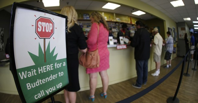 Early shoppers line up for tax-free weed in Colorado