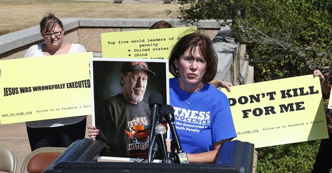 Court halts execution of Oklahoma man who claims innocence