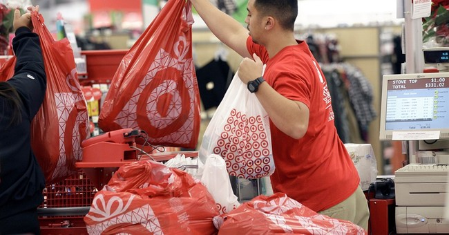 Target, developing healthier habits, hands workers Fitbits
