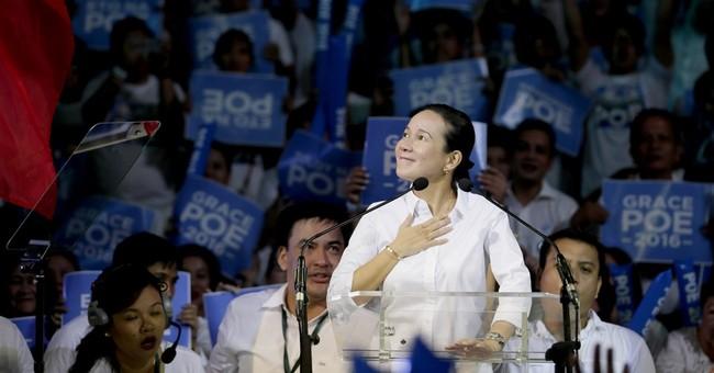 Popular Philippine senator announces bid for presidency
