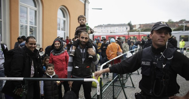 First stop for new arrivals in Germany: bureaucracy