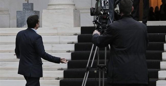 Greece's first radical left prime minister sworn in