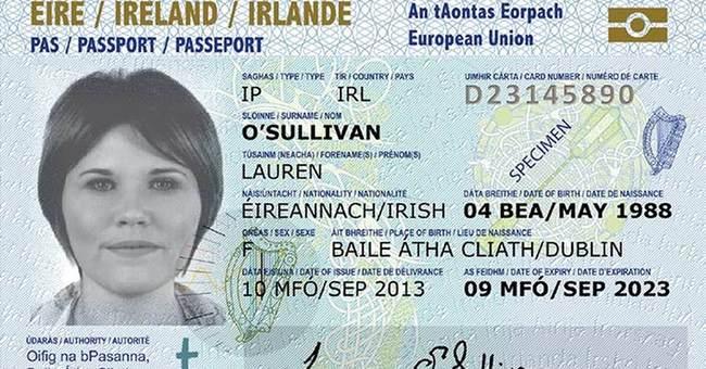 Ireland unveils credit card-style passports for EU travel