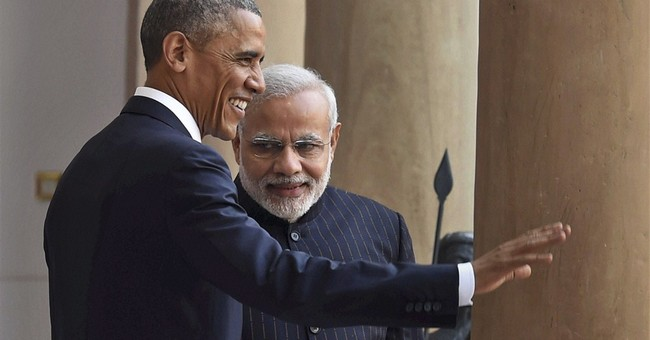 China's shadow looms large over Obama visit to India