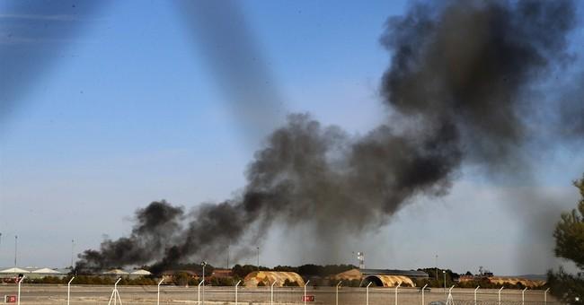 Spain: 10 dead, 21 hurt in crash of Greek F-16 jet at base