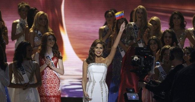 Colombian hometown for Miss Universe celebrating