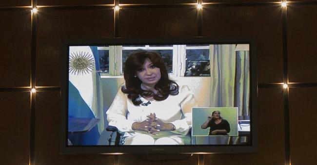 Argentine president seeks overhaul of intelligence services