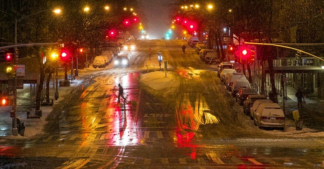 AP PHOTOS: A selection of Northeast snowstorm images