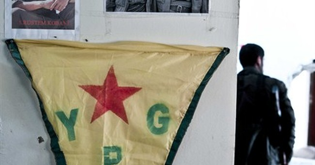 Kurds celebrate ousting Islamic State fighters from Kobani