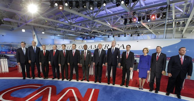 Stretch marks showed on CNN debate