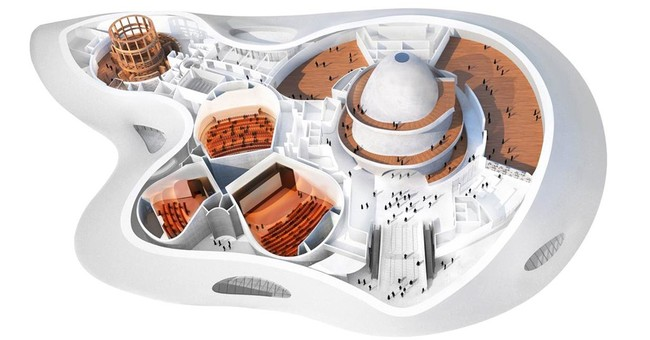 Lucas Museum team unveils new design with more park space