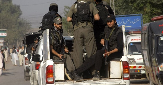 Brazen Taliban attack on Pakistani military base kills 29