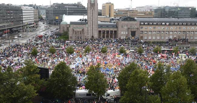 Nationwide strike brings parts of Finland to a halt