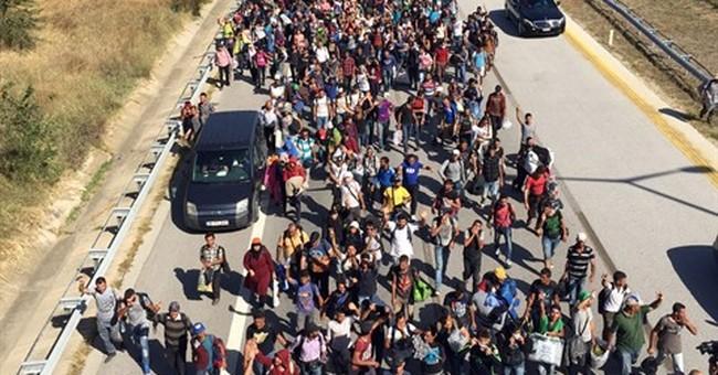 Europeans shut borders, block bridges, to halt migrant surge