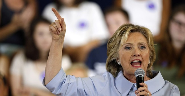 Clinton 'appalled' by Muslim comment at Trump campaign event