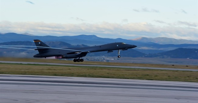Military operations begin at expanded bomber training area
