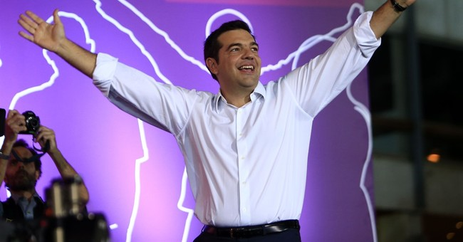 Greece's Tsipras says election will defeat corrupt elite