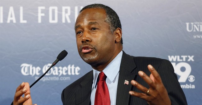 GOP candidate Carson: Muslim shouldn't be elected president
