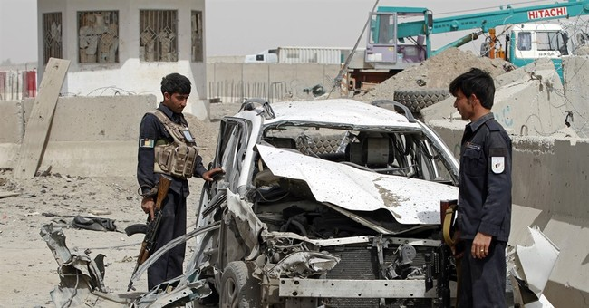 More than 20 Afghan civilians and police wounded in attacks