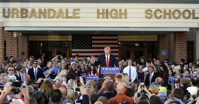 Trump's advice to teens: Follow your heart, do what you love