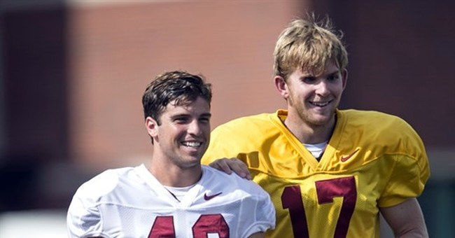 Blind long-snapper plans to 'work my way up' to play for USC