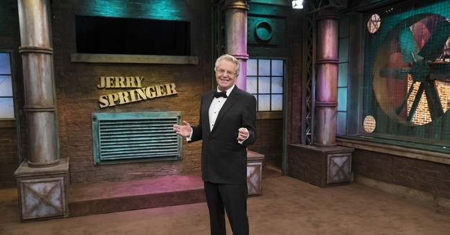 A silver anniversary for Jerry Springer