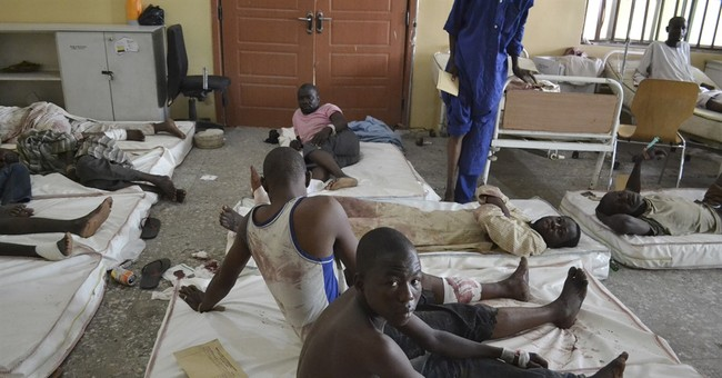 Nigerian official: 54 die in blasts in Borno state capital
