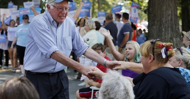 Sanders gets grumpy, but voters like him that way