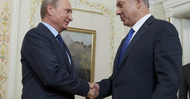 Putin seeks to assuage Israel's fears of Syrian aggression