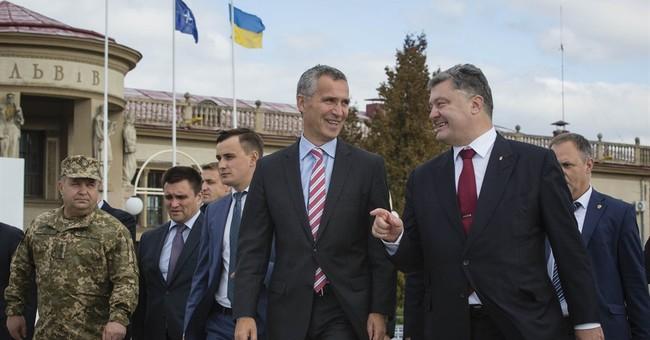 NATO's Stoltenberg begins first visit to Ukraine