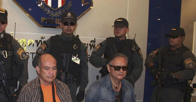 Philippine ex-governor, brother arrested in Thailand