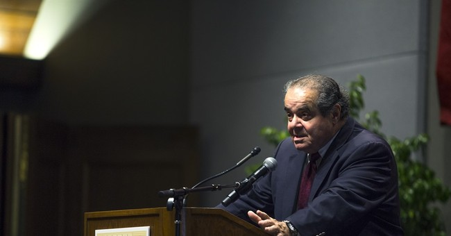 Scalia addresses Constitution, same-sex marriage in speech