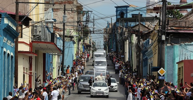 Pope calls on Cubans to live 'revolution of tenderness'