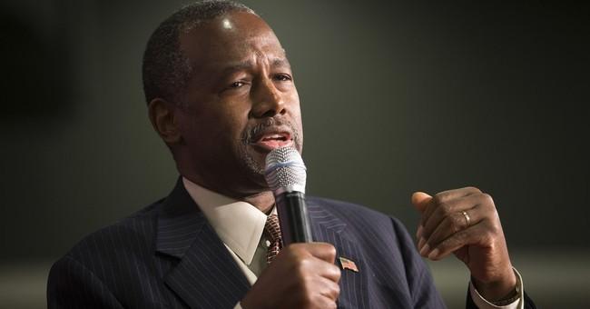 Carson blames 'PC culture' for Muslim comment flap