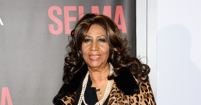 Aretha Franklin has a song _ and a gift _   for the pope