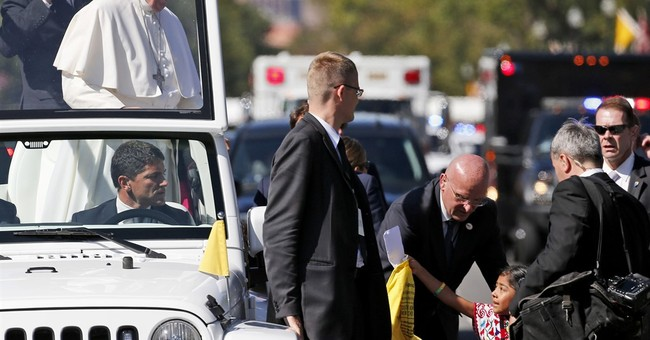 Pope's security faces Capitol test after parade incident