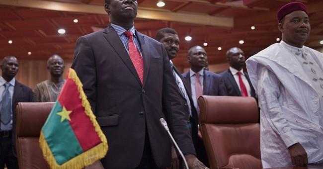 Burkina Faso president disbands presidential guard