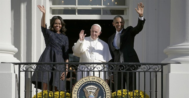 AP PHOTOS: Adoring crowds greet pope in nation's capital