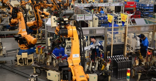 Robot revolution sweeps China's factory floors