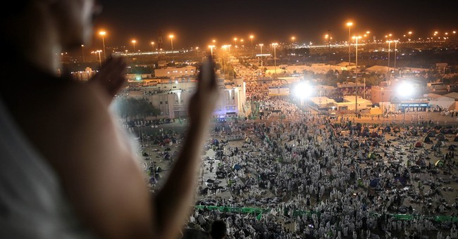 Muslim pilgrims gather for pinnacle of hajj in Saudi Arabia