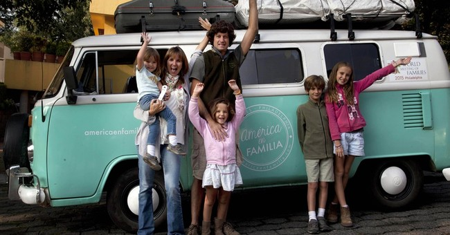 Argentine family finishes 6-month papal pilgrimage in old VW