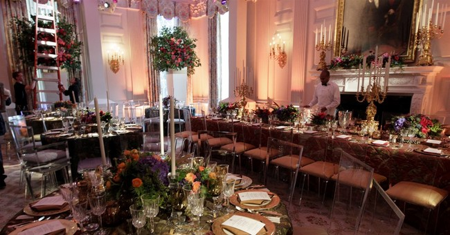 American cuisine with Chinese flavors on state dinner menu