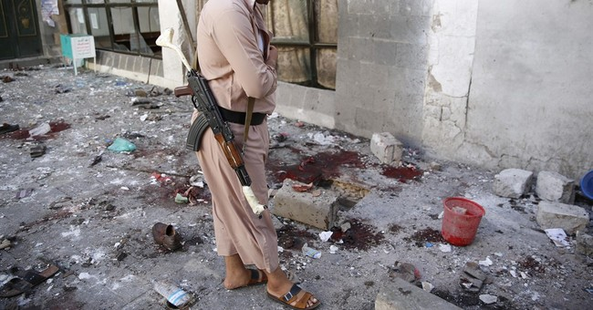 IS suicide bomber kills 25 at mosque in Yemeni capital