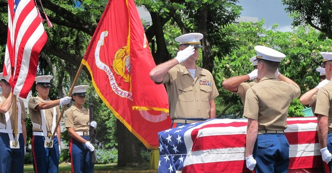 Newly identified remains of WWII Marine heading home